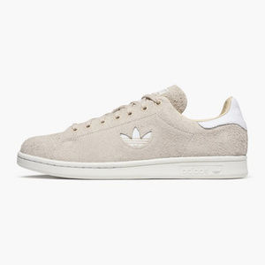 Adidas Men's Stan Smith Plush Suede Linen Sneakers